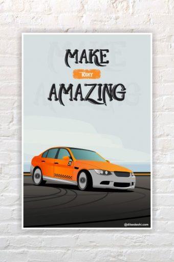 Amazing Wall Poster mockup