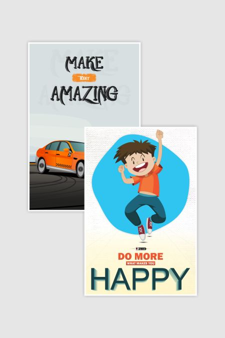Amazing Quotes Poster Combo