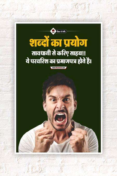 Use of Word Wall Poster mockup
