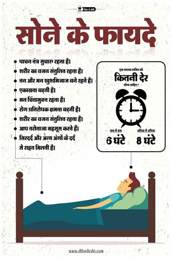Benefits of Sleep Wall Poster