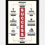 Success Inspirational Wall Frame