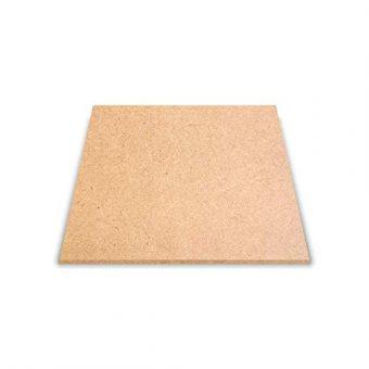MDF Wood Square Shape Art Board mockup [12 x 12 Inch]