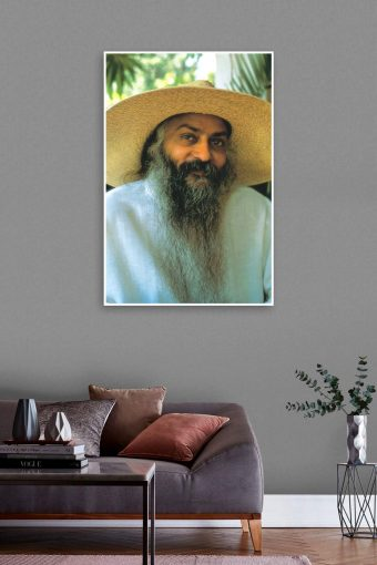 Osho Best Wall Poster mockup