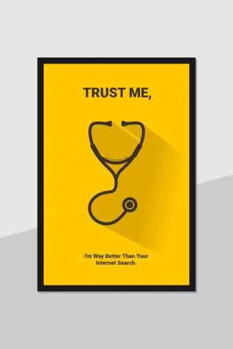 Doctor Poster frame