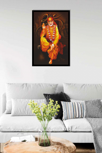 Sai Baba Best Wall Frame (1) - Copy