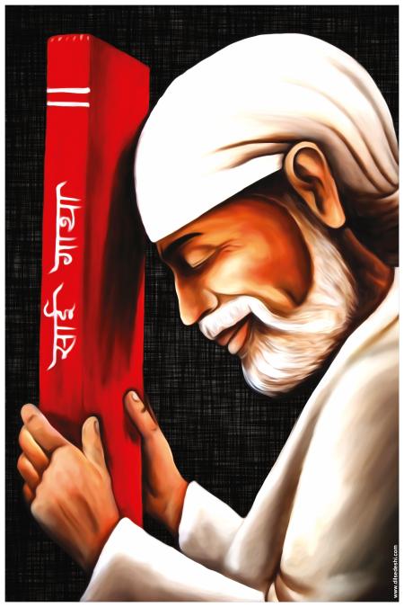Sai Baba Wall Poster (1)